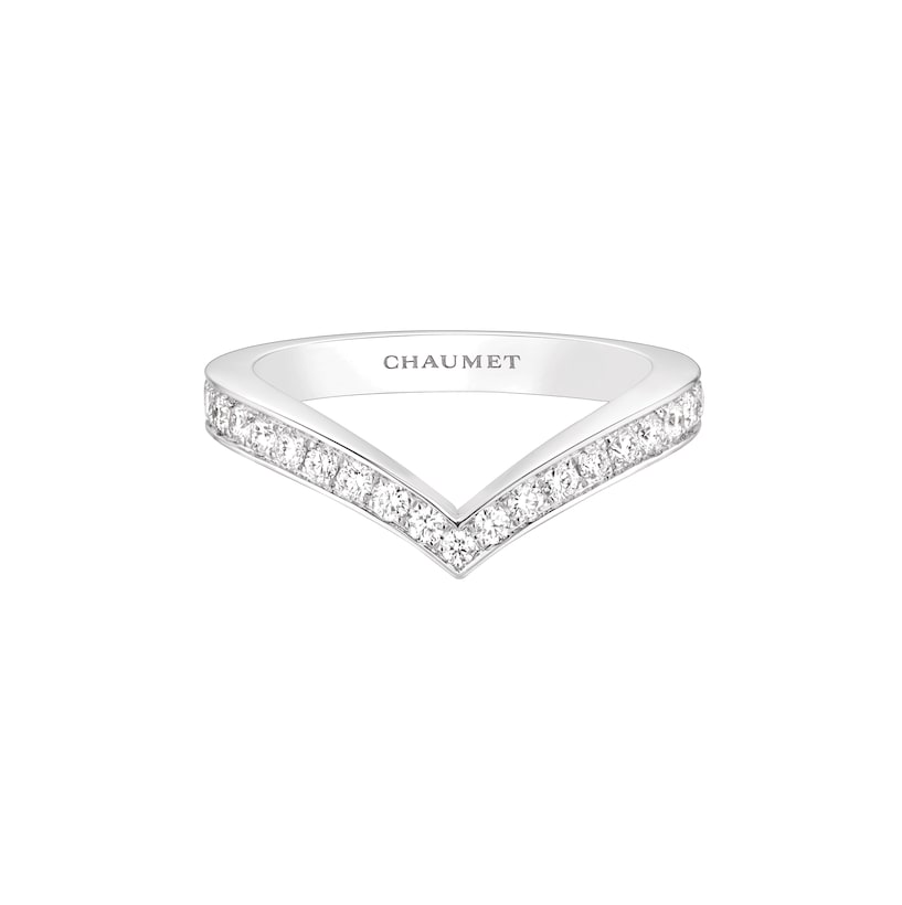 Joséphine Aigrette ring - White Gold - Chaumet