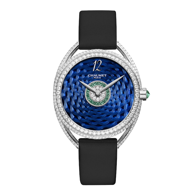 """Liens Lumière"" Medium Model watch - White Gold - Chaumet"