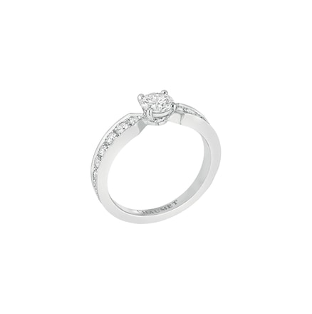 Solitaire Plume - Platine - Chaumet
