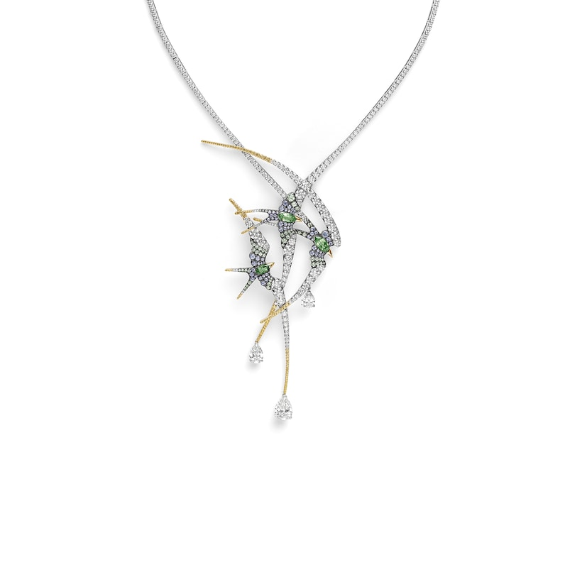Envol necklace - White Gold - Chaumet