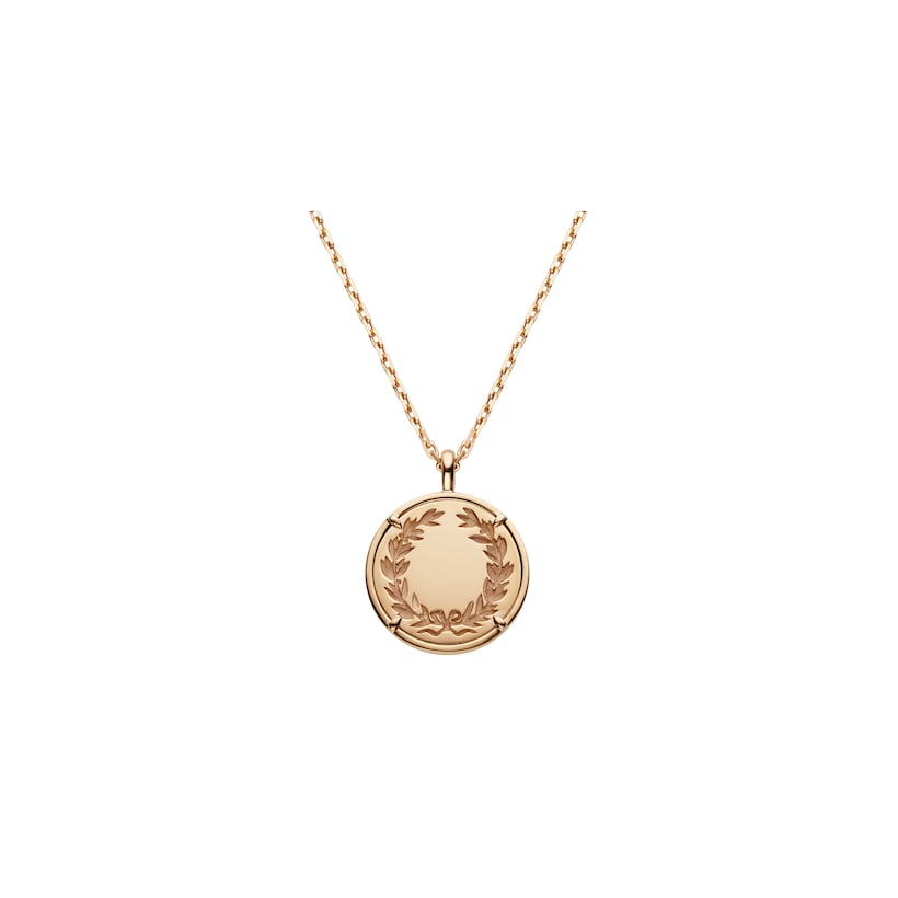 Légende de Chaumet diamonds medium model pendant - Pink Gold - Chaumet