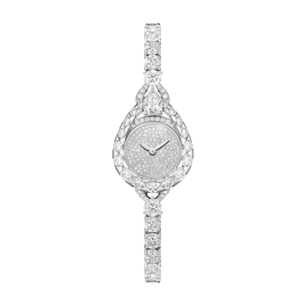 "Joséphine ""Aigrette"" watch, Extra Small model - Platinum - Chaumet"