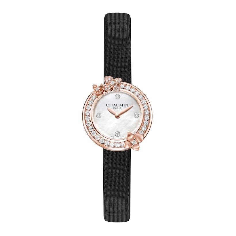 Hortensia Eden Watch Small Model - Pink Gold - Chaumet