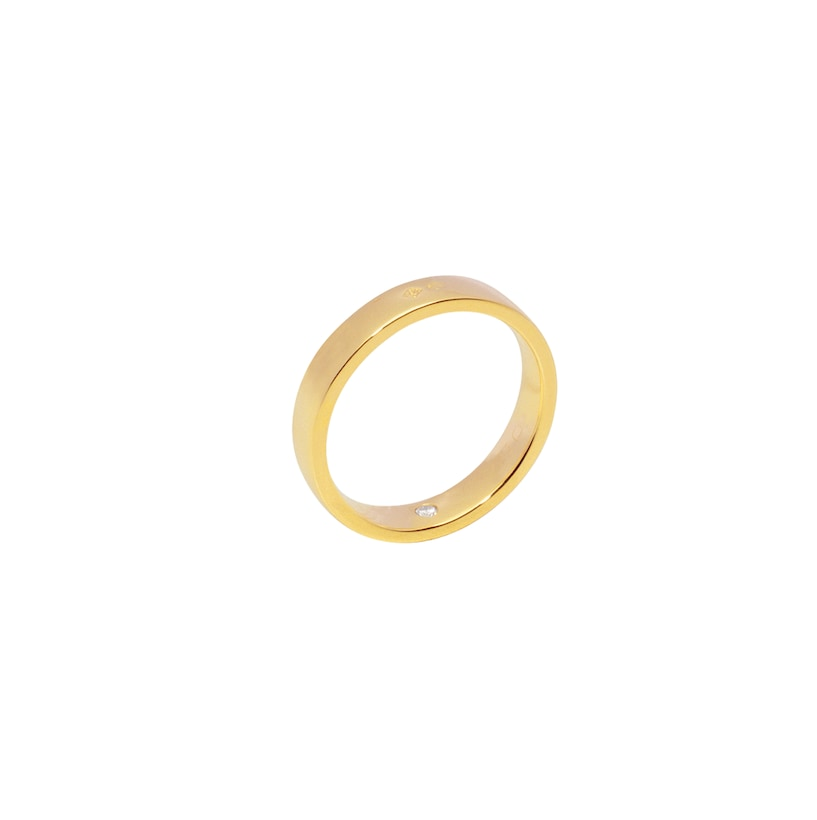 Les Eternelles de Chaumet Rubans wedding band - Yellow Gold - Chaumet
