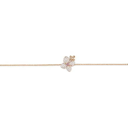 "Hortensia ""Astres d'or"" bracelet - Pink Gold - Chaumet"