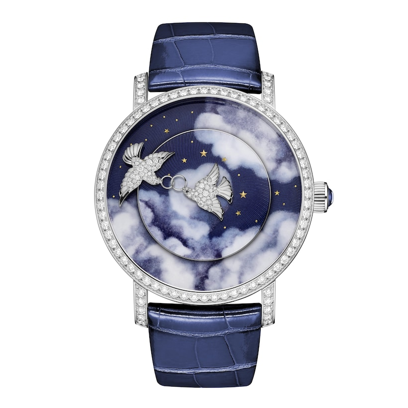 Colombes creative complication - White Gold - Chaumet