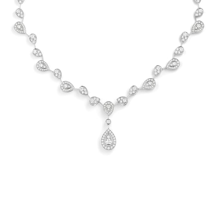 Joséphine Aigrette Impériale transformable necklace - White Gold - Chaumet
