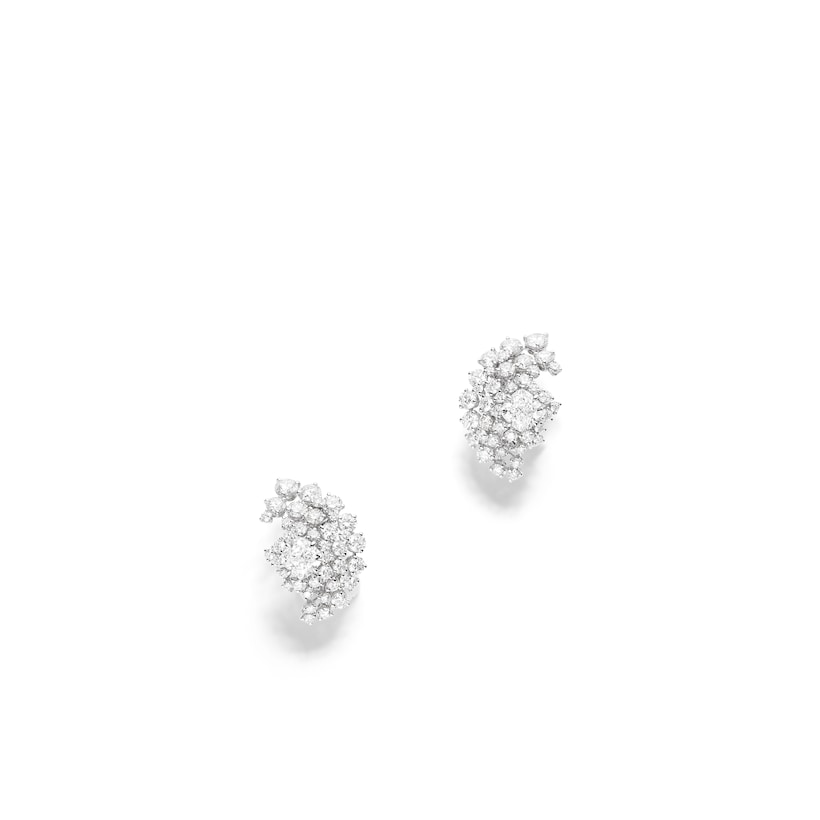Soleil Glorieux earrings - White Gold - Chaumet