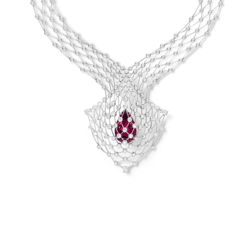 Lacis necklace  - White Gold - Chaumet
