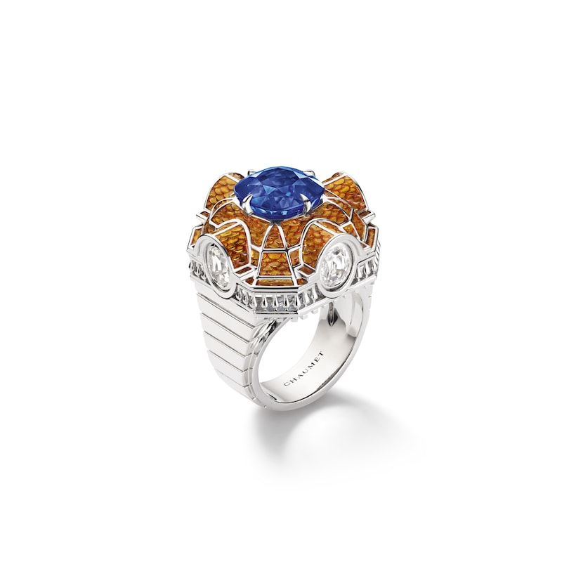 Isadora ring sapphire - White Gold - Chaumet