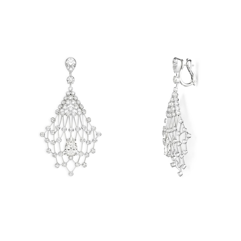 Lacis earrings - White Gold - Chaumet