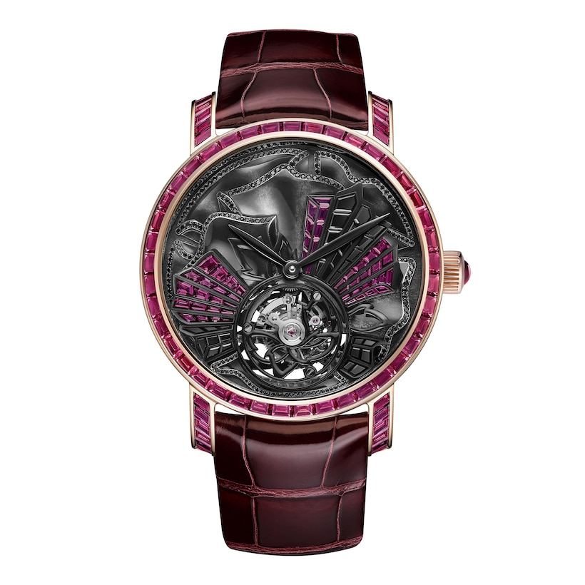 Montre Aria Passionata - Or rose - Chaumet