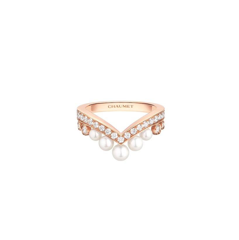 Joséphine Aigrette ring - Pink Gold - Chaumet