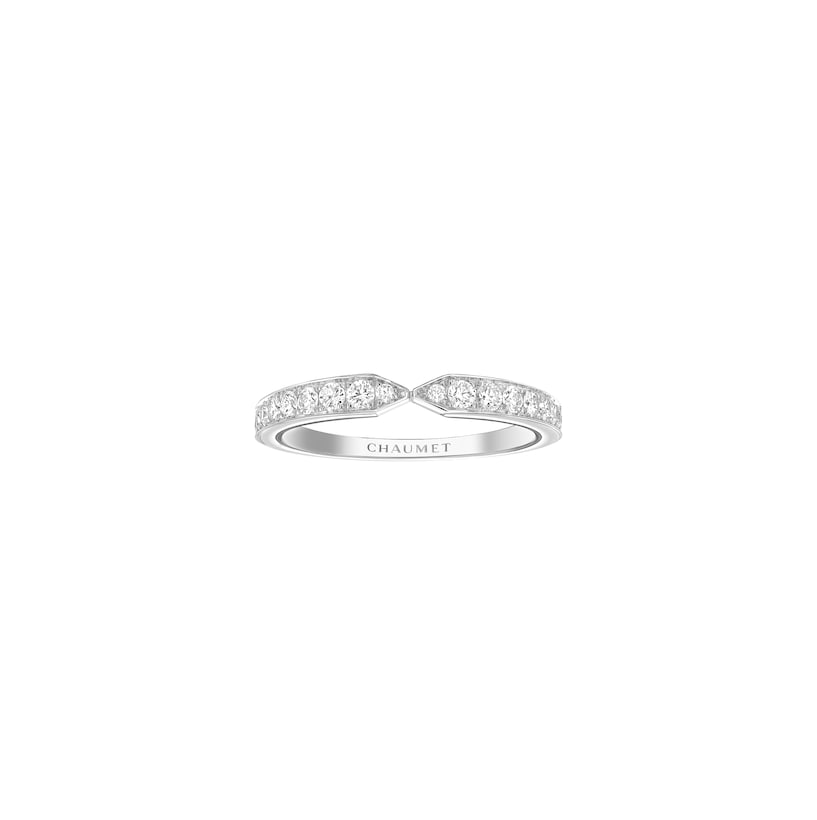 Plume wedding band - Platinum - Chaumet