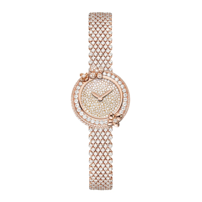 Hortensia Eden Watch - Pink Gold - Chaumet