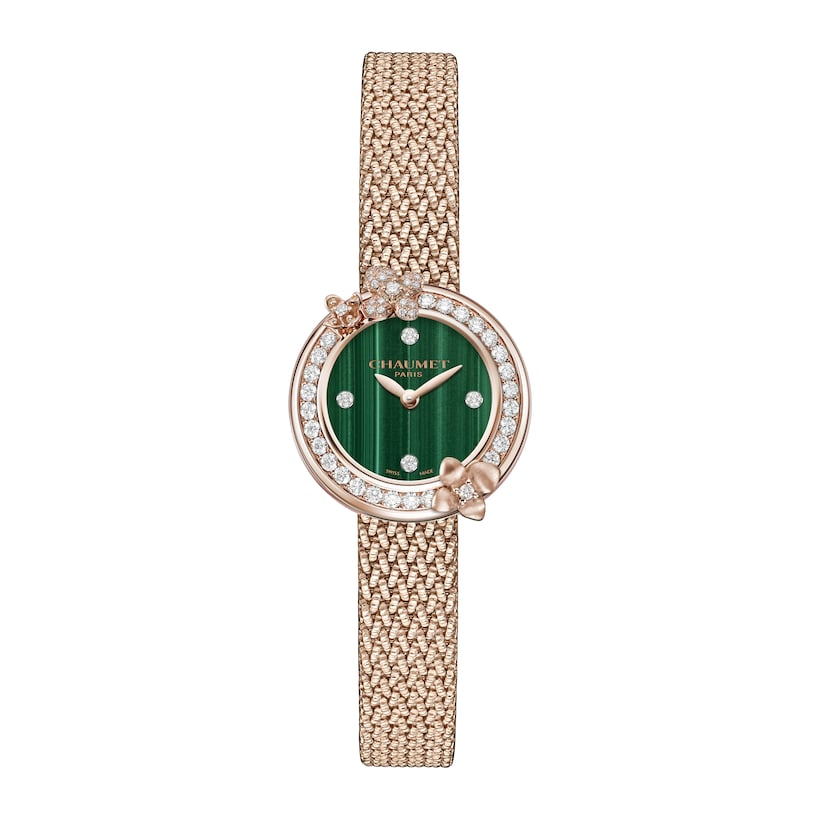 Montre Hortensia Eden - Or rose - Chaumet