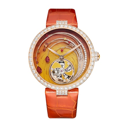 Soleil de Feu Flying Tourbillon watch - Pink Gold - Chaumet