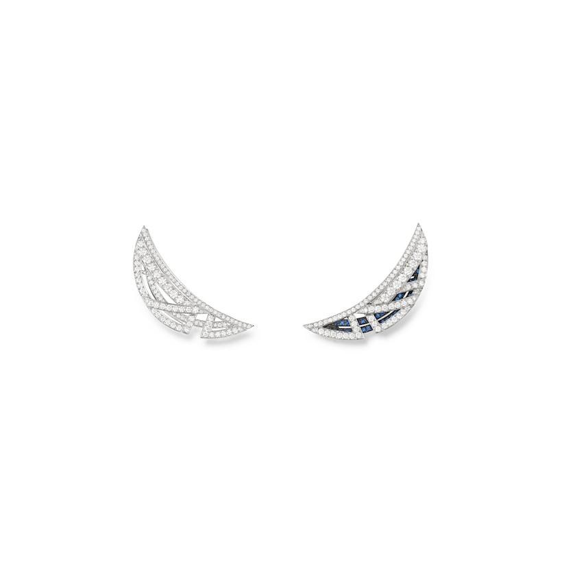 Mirage earrings - White Gold - Chaumet