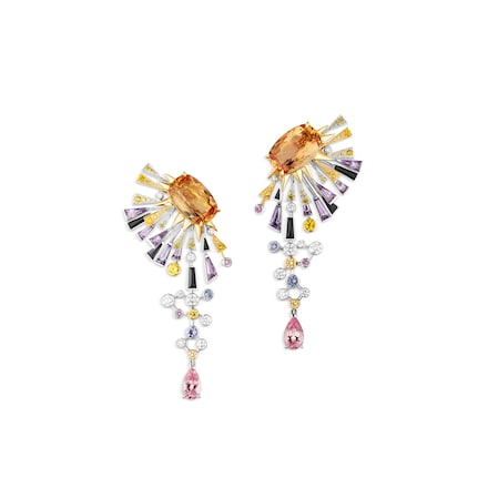 Lueurs d'Orage earrings - White Gold - Chaumet