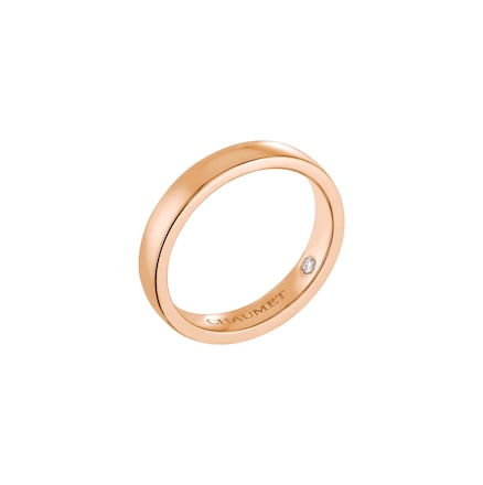 Les Eternelles de Chaumet Rubans wedding band - Pink Gold - Chaumet