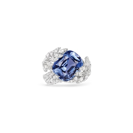 Offrandes' lavender sapphire ring - White Gold - Chaumet