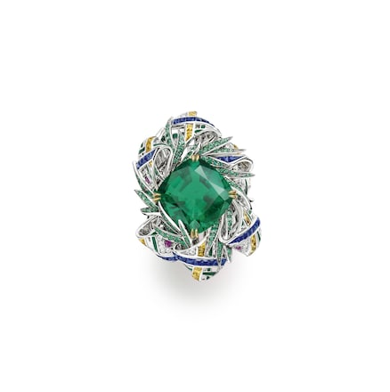 Pastorale Anglaise ring - White Gold - Chaumet