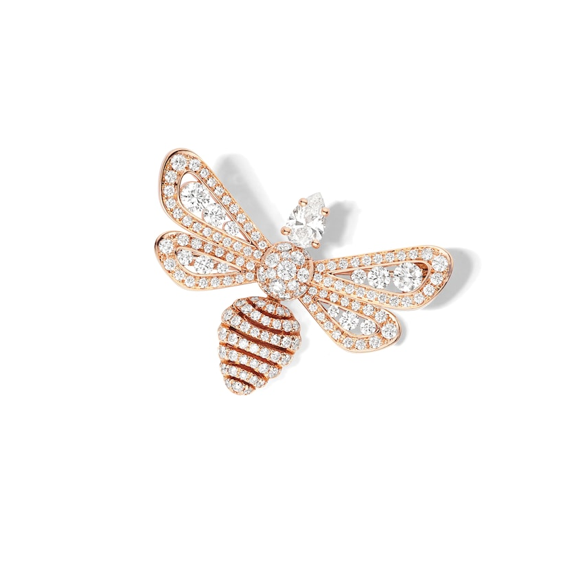 Broche Abeille - Or rose - Chaumet
