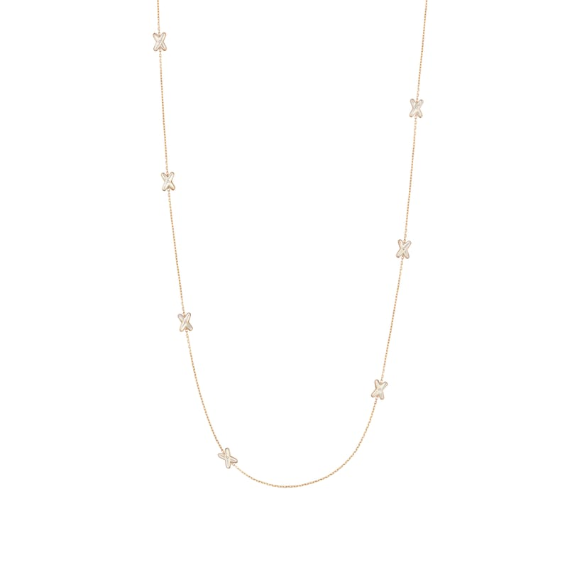 Jeux de Liens long necklace - Pink Gold - Chaumet