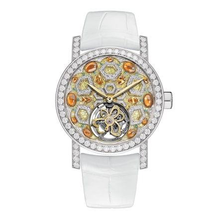 Abeille watch Extra Large Model - White Gold - Chaumet