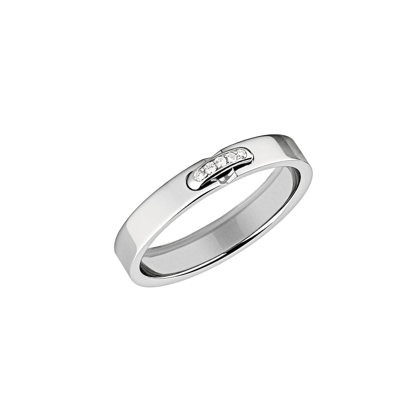 Liens Evidence wedding band - Platinium - Chaumet