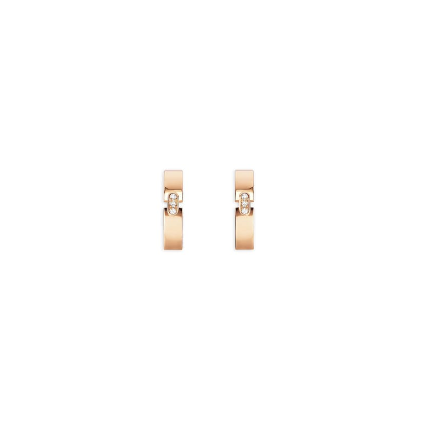 Liens Évidence earrings - Pink Gold - Chaumet