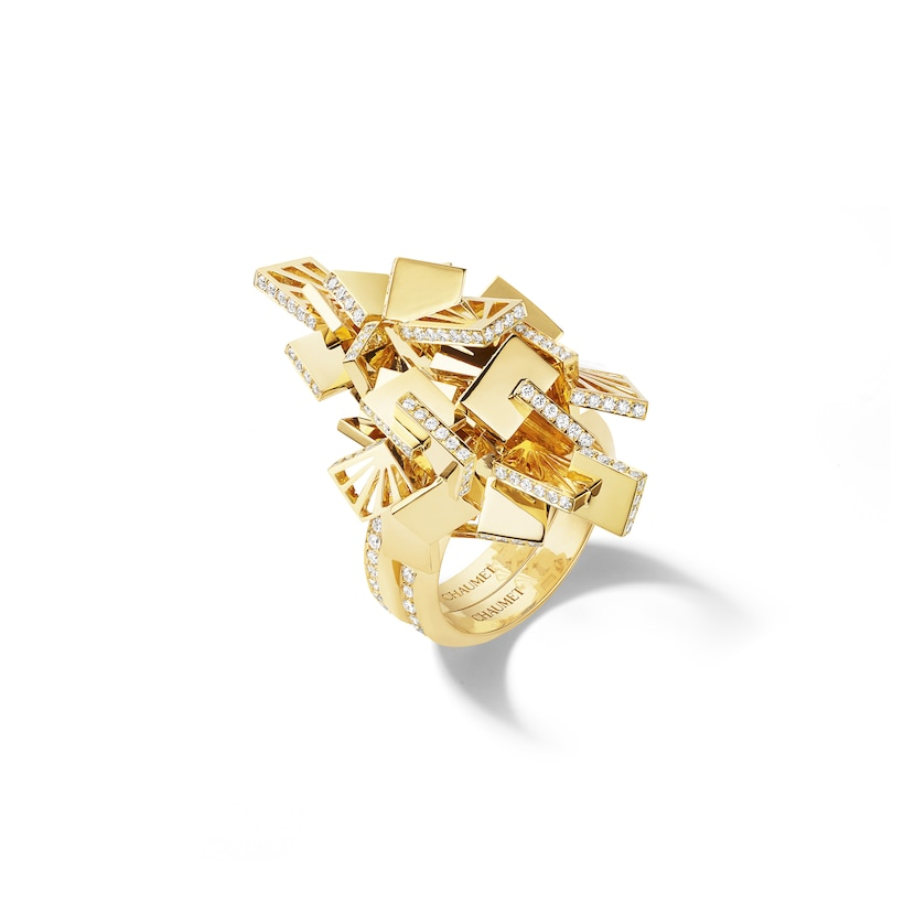 Bague transformable Skyline - Or jaune - Chaumet