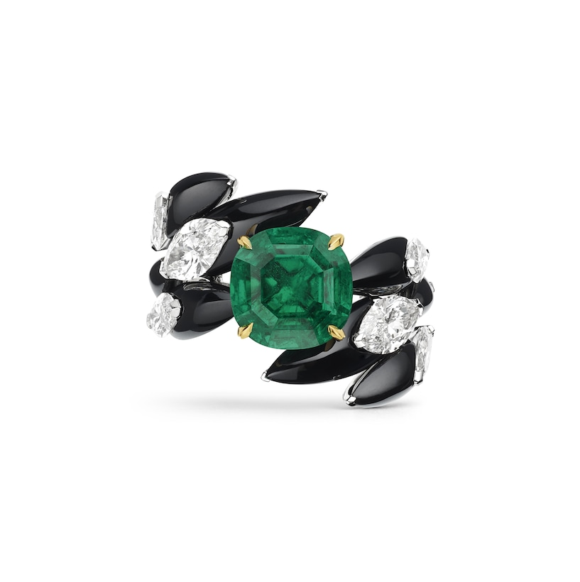 """Cascades royales"" ring - White Gold - Chaumet"