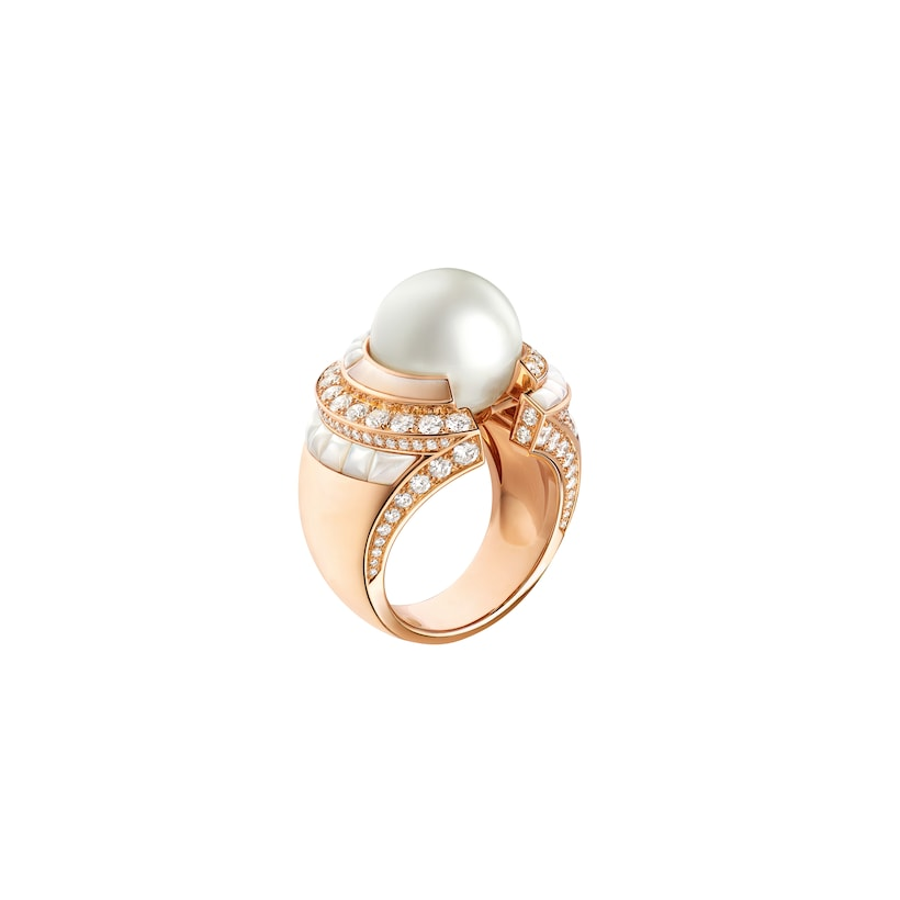 Bague Labyrinthe - Or rose - Chaumet
