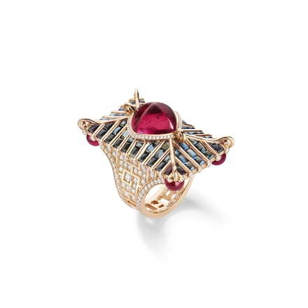 Lady Wei ring rubellite - Pink Gold - Chaumet