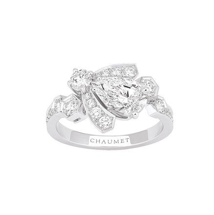 Bague Bee My Love - Or blanc - Chaumet