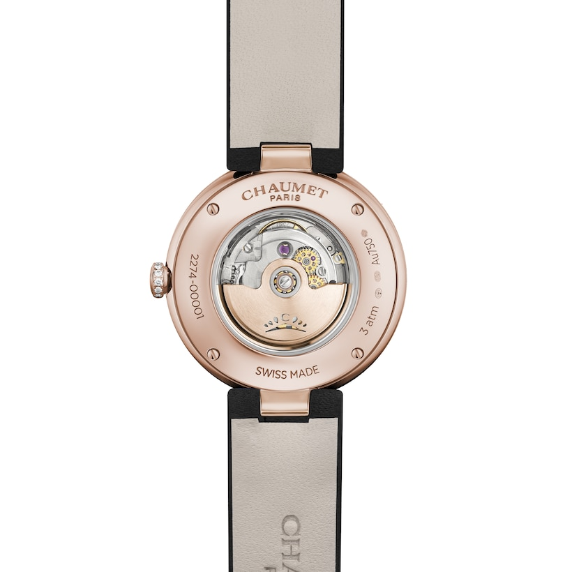 Laurier Secret Watch Medium Model - Pink Gold - Chaumet