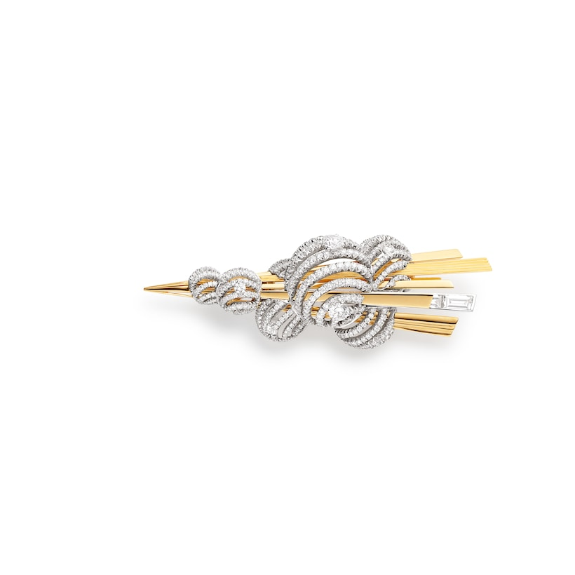 Nuages d'or brooch - White Gold - Chaumet