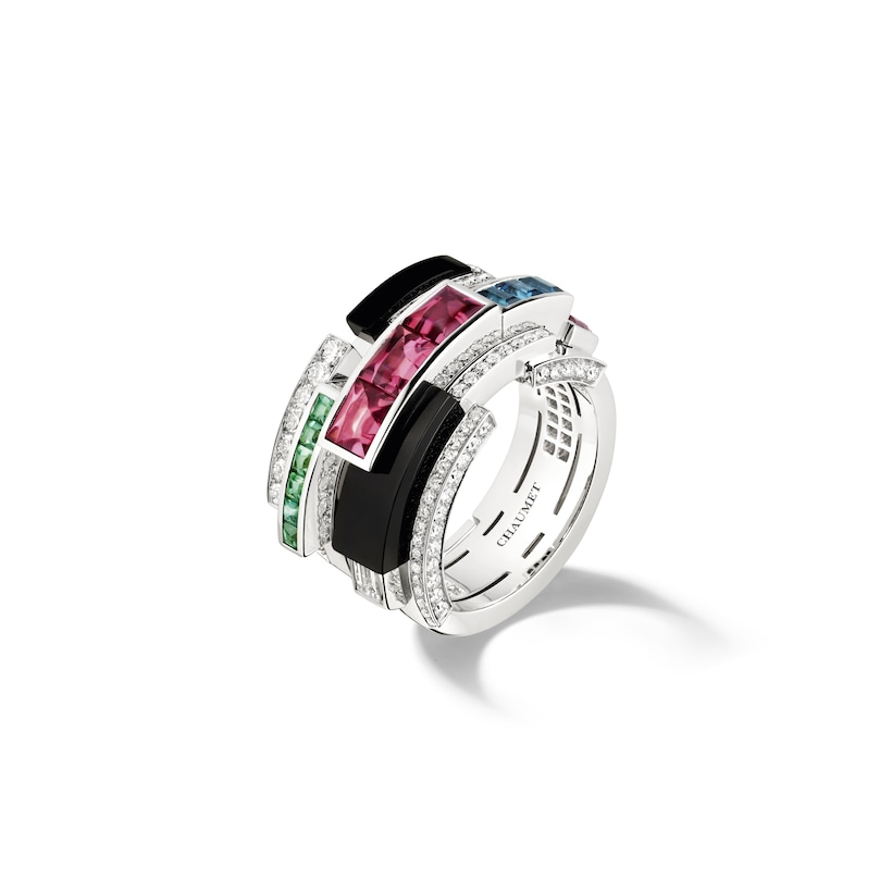 Labyrinthe ring - White Gold - Chaumet