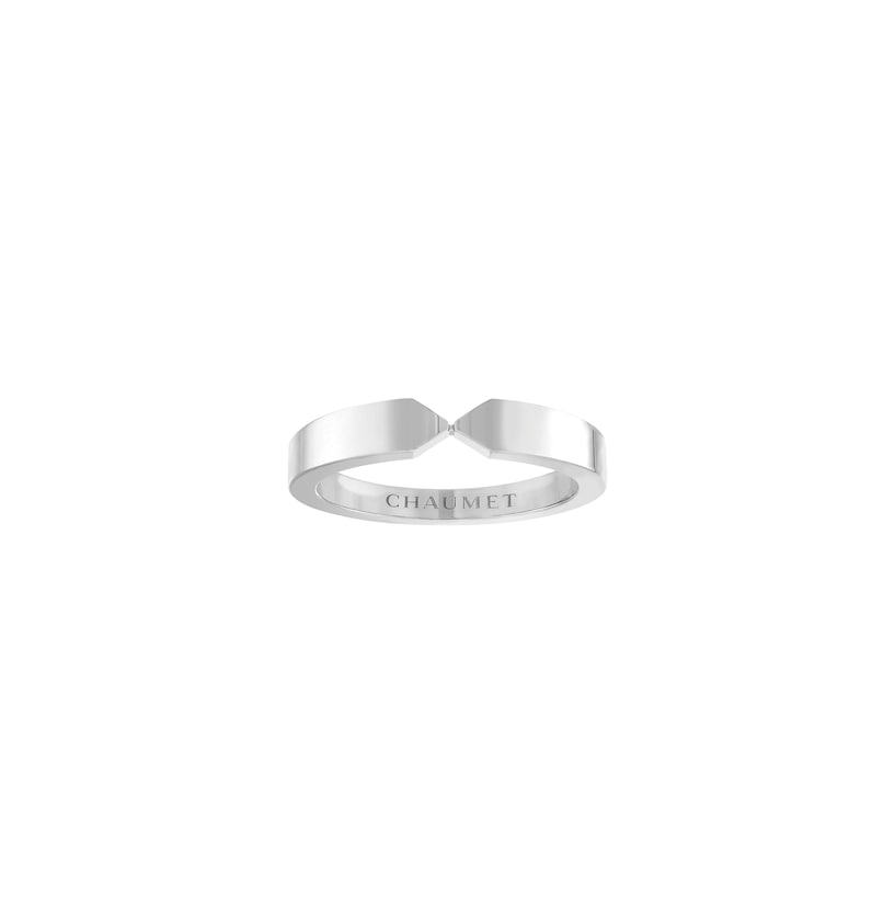 Triomphe de Chaumet wedding band - Platinum - Chaumet