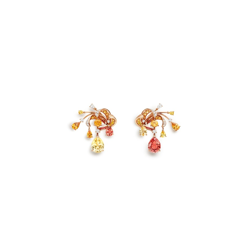 Soleil de Feu earrings - Pink Gold - Chaumet