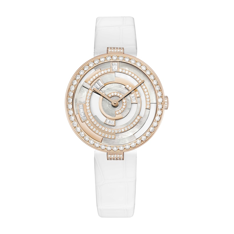 Montre Labyrinthe - Or rose - Chaumet