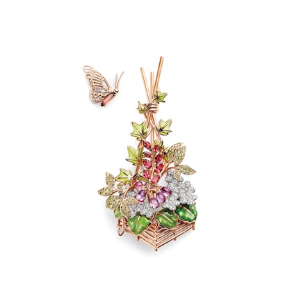 Cueillette brooch - Pink Gold - Chaumet