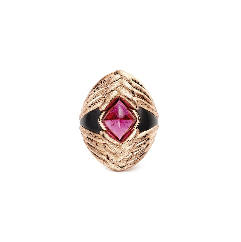 "Bague ""Talismania"" - Or rose - Chaumet"