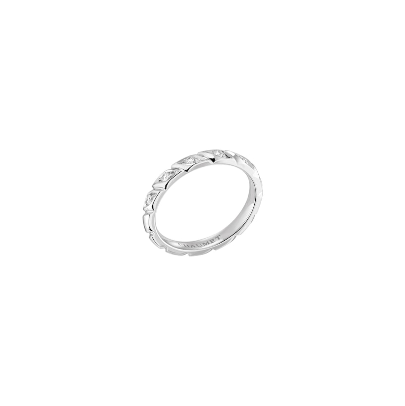 Torsade de Chaumet wedding band - Platinum - Chaumet
