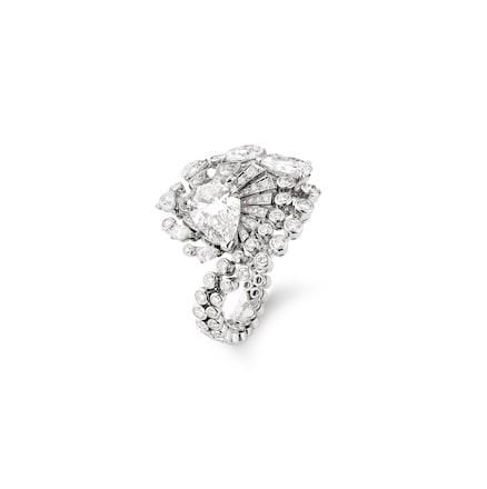 Lueurs d'Orage ring - White Gold - Chaumet