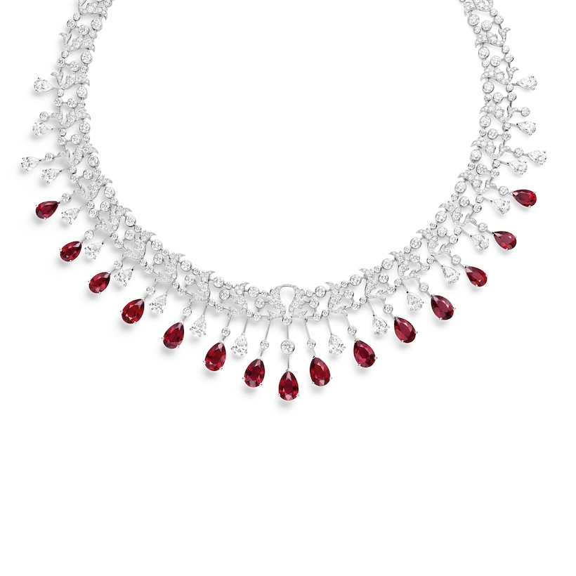 Soir de Fête necklace - White Gold - Chaumet