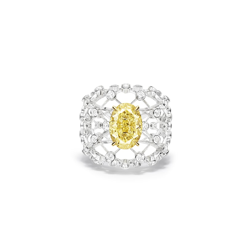 Lacis ring - White Gold - Chaumet