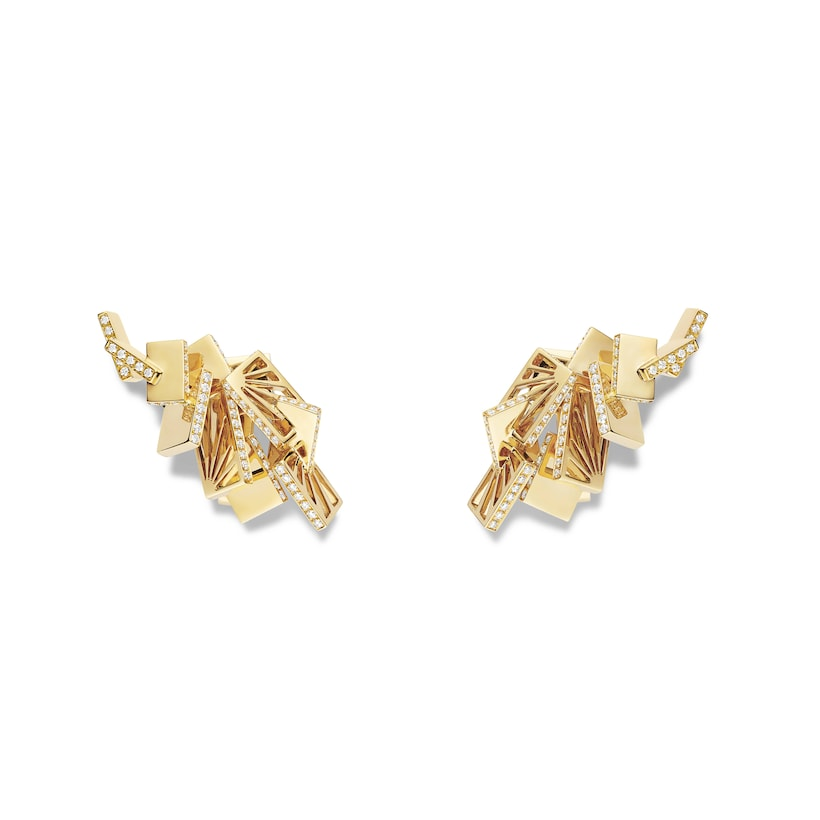 Skyline earrings - Yellow Gold - Chaumet