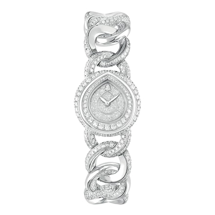 "Joséphine ""Rondes de nuit"" watch Small Model - White Gold - Chaumet"